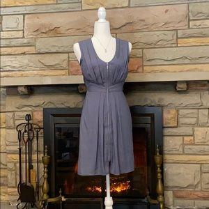 H&M light blue sleeveless zip-up dress size 2 NWOT